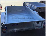 غلفن انحدار حارّ يلحم شاحنة قلّابة صندوق مقطورة مع ألومنيوم [توولبوإكس]