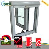 UPVC 태풍 충격 여닫이 창 쇠창살 디자인