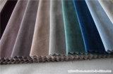 Tissu Cottontype de rideau en velours d'arrêt total de capitonnage de polyester