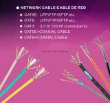싼 가격 UTP/FTP/SFTP 4 꼬이는 쌍 Cat5e CAT6 근거리 통신망 케이블