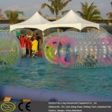 Bola inflable material de Zorb del agua del pequeño lago del PVC TPU