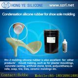 Molde da sapata que faz a materiais a borracha de silicone líquida