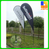 주문 Printing Outdoor Advertizing Polyester Feather Flag, 폴란드와 가진 Teardrop Beach Flag
