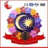 Kenteken van het Email van de Kleur van de Opbrengst van Zhongshan het Professionele Volledige