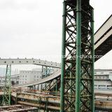 Ленточный транспортер изогнутый заводом по изготовлению стали/горизонтальный транспортер загиба изгибают транспортер