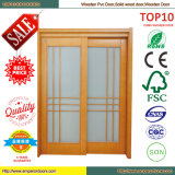 Custom Design Mahoangy Cast Iron Wood Stove Door
