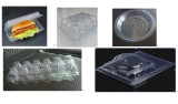 Vacío del envase de la bandeja de los alimentos de preparación rápida de la espuma plástica que forma la máquina