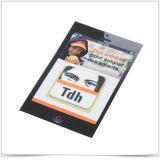 Collant personnalisé de nettoyage d'écran de téléphone mobile
