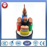 Cabo distribuidor de corrente isolado PVC padrão Não-Blindado do IEC