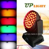 UV+RGBWAのズームレンズの洗浄36*18W LED移動ヘッドライト