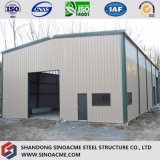 Entrepôt préfabriqué de bâti en acier pour la mémoire de ferme