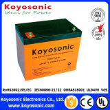 UPS em linha industrial do apoio de bateria das baterias 2kVA da bateria acidificada ao chumbo de 12V 18ah