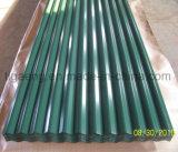 Azulejo de azotea de la capa del color del precio de fábrica/placa/hoja de acero para Egipto
