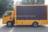 caminhão do anúncio 4X2 ao ar livre 5 de diodo emissor de luz toneladas de veículo do indicador