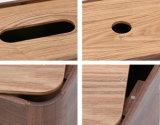 Rectángulos de madera del tejido de la nuez de encargo de la insignia