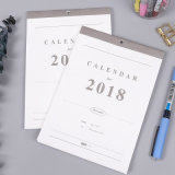 Qualitäts-Offsetdrucken-Zoll lamellierter Wandkalender, Tischkalender