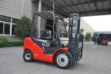 Forklift livre cheio Triplex do motor Diesel do mastro para a venda 3.5ton