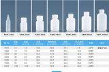 bouteille en plastique transparente du couvercle à visser pp de 60ml 100ml pour le liquide oral, empaquetage d'alcool