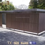 옥외 안전 정원을%s 접을 수 있는 알루미늄 WPC 합성 담