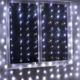 6*3m indicatore luminoso della tenda di sicurezza della tenda dell'indicatore luminoso leggiadramente dei 600 LED con il maschio ed il fermaglio
