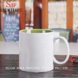 カスタム陶磁器のコップのコーヒー・マグ(多彩な内部)