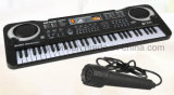 Soem scherzt Kind-musikalische elektronische Klavier-Multifunktionstastatur mit Mikrofon
