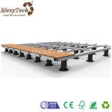 Zócalo de madera ajustable del Decking de la altura portable fácil de la instalación