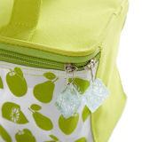 Sac vert de refroidisseur avec le sac isolé par extracteurs de tirette de glaçon
