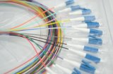 Single-Mode Sc, FC, St, LC, Mu, E2000, de Kabels van het Flard van de Optische Vezel MPO