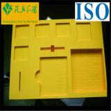 Papel moldado dobrável de Recycable que empacota/empacotamento de alimento de bambu