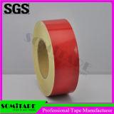 O vermelho adesivo da visibilidade elevada da fita Sh510 de Somi reflete a fita para o cuidado do carro