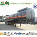 3 de as Verwarmde Semi Aanhangwagen van de Tankwagen van het Vervoer van het Bitumen