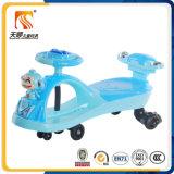 Matière plastique des enfants En71 de véhicule approuvé de plasma avec des roues d'émerillon à vendre