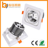 10W 120 degrés Square LED COB Lampe de plafond Down Light