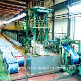Máquina de revestimento da fonte para a bobina de aço galvanizada