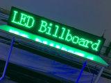 P10 녹색 실내 LED 게시판 무선 및 USB 풀그릴 회전 LED 달리기 전시 40X8 인치 LED 표시