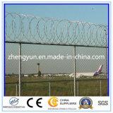 Barriera di sicurezza della rete fissa saldata aeroporto della rete metallica