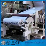 Servilleta estándar del rodillo del papel de tejido de tocador que hace la cadena de producción de máquina de la fabricación