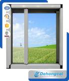 In het groot Aluminium/Openslaand raam UPVC