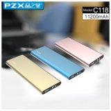 De model pzx-C118 Uitstekende kwaliteit van de Bank 11200mAh van de Macht voor Telefoon