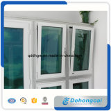 China-gut wasserdichtes einzelnes Glasfenster/Schieben des Window/PVC Fensters