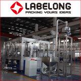 Embotellamiento del agua mineral planta de maquinaria para envase de plástico
