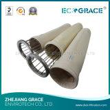 Sacchetto filtro industriale del tessuto filtrante del poliestere degli accessori dell'accumulazione di polvere