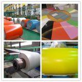 El color de la anchura 600mm-1250m m PPGI PPGL cubrió las bobinas de acero