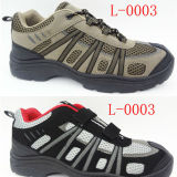 Горячее Sale Hiking Shoes с PVC Injected Outsole (L-0003)