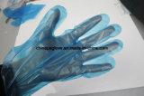 Устранимая поли синь цвета перчаток используемым трактиром Mcdonald