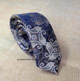 Cravate élevée de Polyerster tissée par Microfiber Paisley de mode