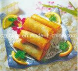 rolo de mola dos vegetais 15g, alimento Frozen, estilo congelado
