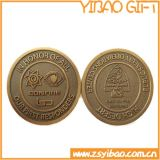 Customized poco costoso Logo Double Side Matel Coin per Souvenir (YB-c-009)