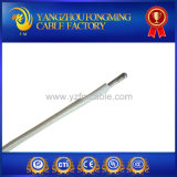 Cable trenzado aislado de la fibra de vidrio del caucho de silicón de UL3075 600V 200c 18AWG